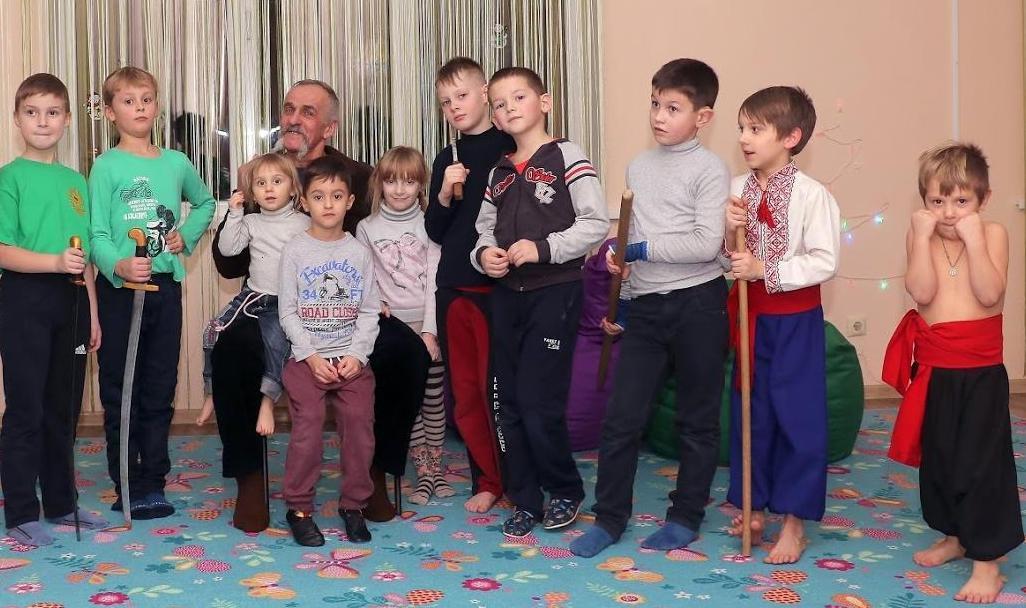 Підготовча група Бойового Гопака у Хмельницькому – тренування для дітей.