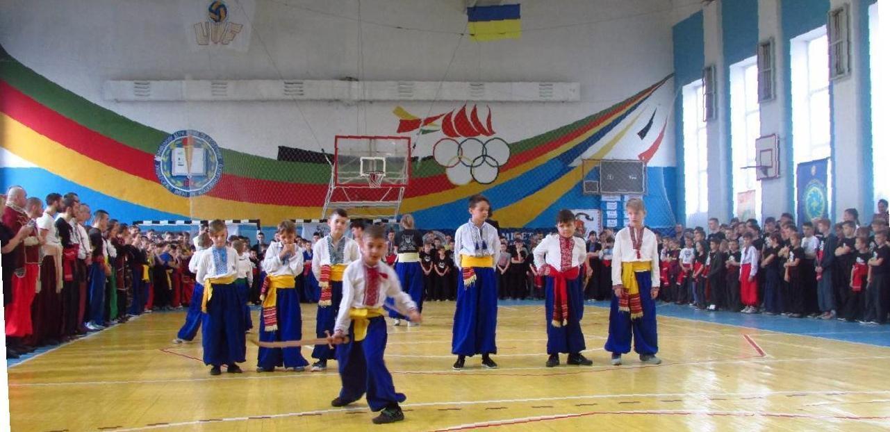 *** Чемпіонат України з Бойового Гопака - 2017 рік м Вінниця - показовий виступ ***