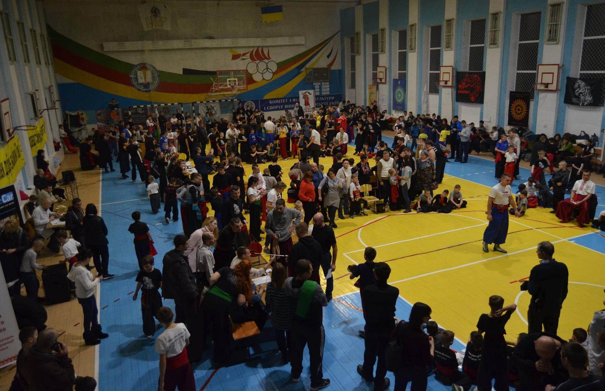 *** Чемпіонат України з Бойового Гопака - 2017 рік м Вінниця - триста майстрів та учнів ***