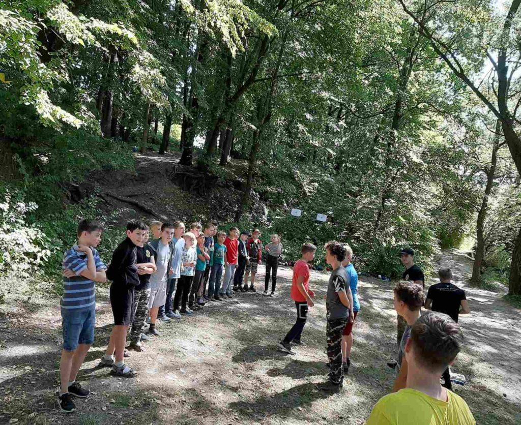 *** Похід та тренування в лісі — Хмельницька Школа Бойового Гопака 2020-08-16 ***