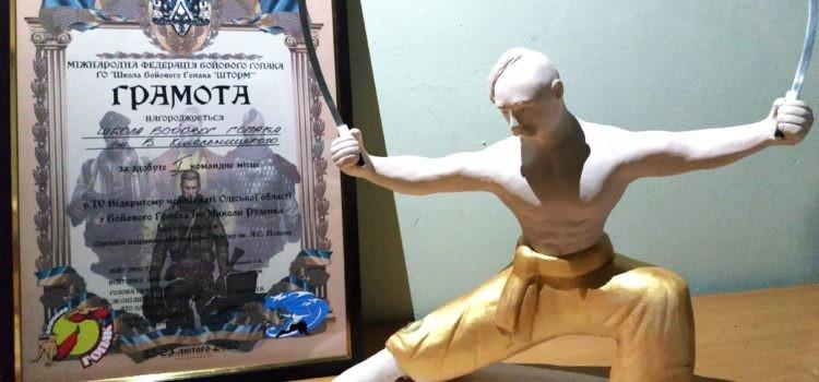 *** IV Відкритий Чемпіонат Одеської області з Бойового Гопака — 2020 Одеса — Хмельницька Школа — 1 місце ***