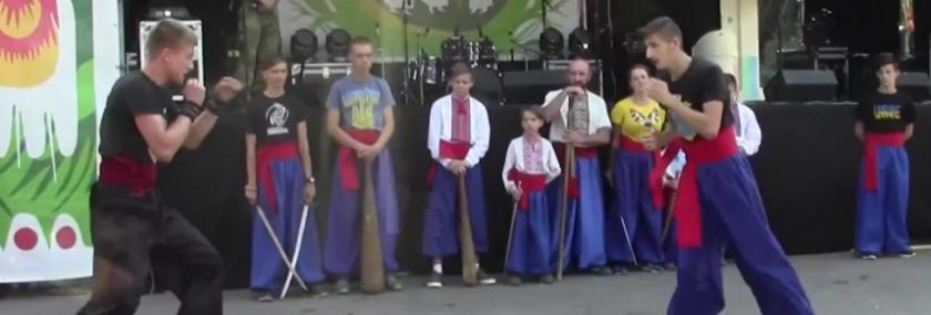 *** Виступ Хмельницький Федерації Бойового Гопака 2017-08-19 місто Хмельницький - відео ***