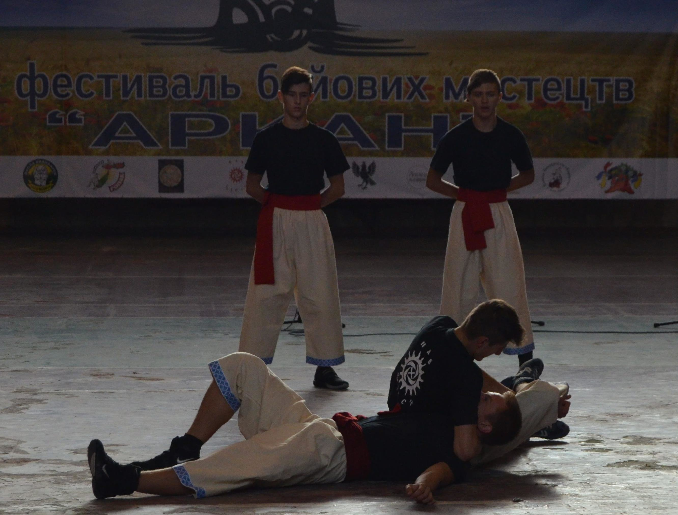 *** Хмельницька федерація Бойового Гопака - боротьба Навхрест - фестиваль бойових мистецтв Аркан - Львів 2017 ***